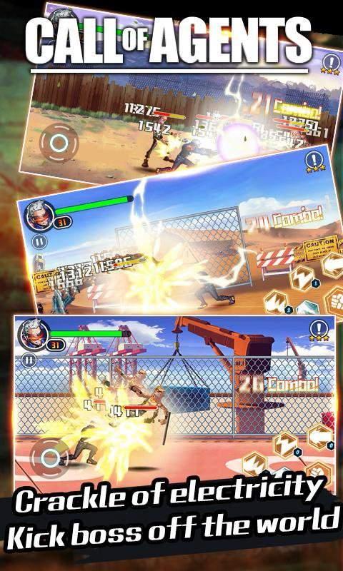 格斗先锋 - 王牌特工动作RPG游戏截图4