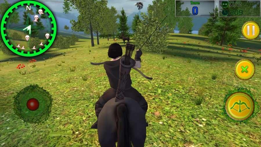 森林弓箭手:狩猎截图1