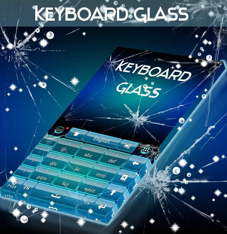 玻璃主题为GO输入法