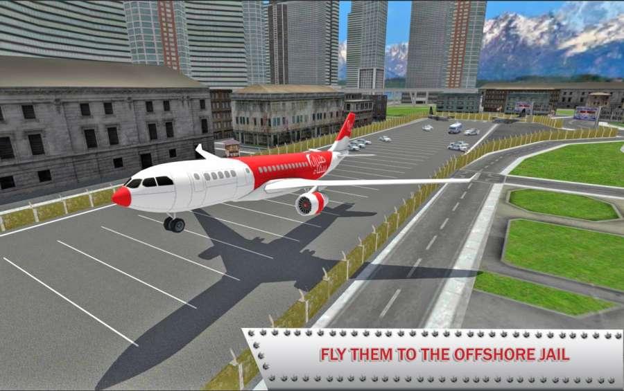 监狱罪犯飞机飞行截图3