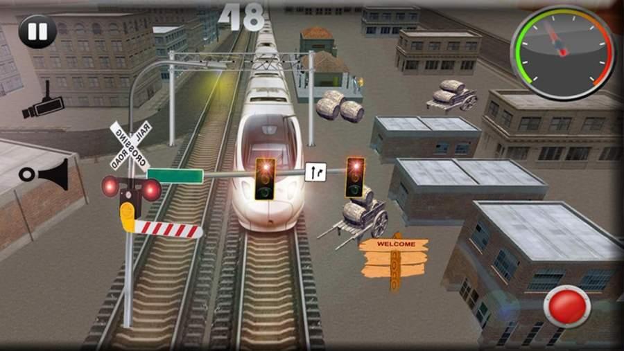 城市子弹头列车司机截图4
