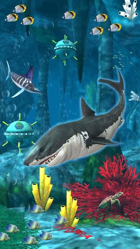 鲨鱼模拟器巨齿鲨截图0