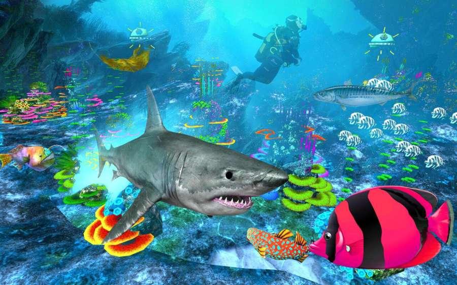 鲨鱼模拟器巨齿鲨截图3