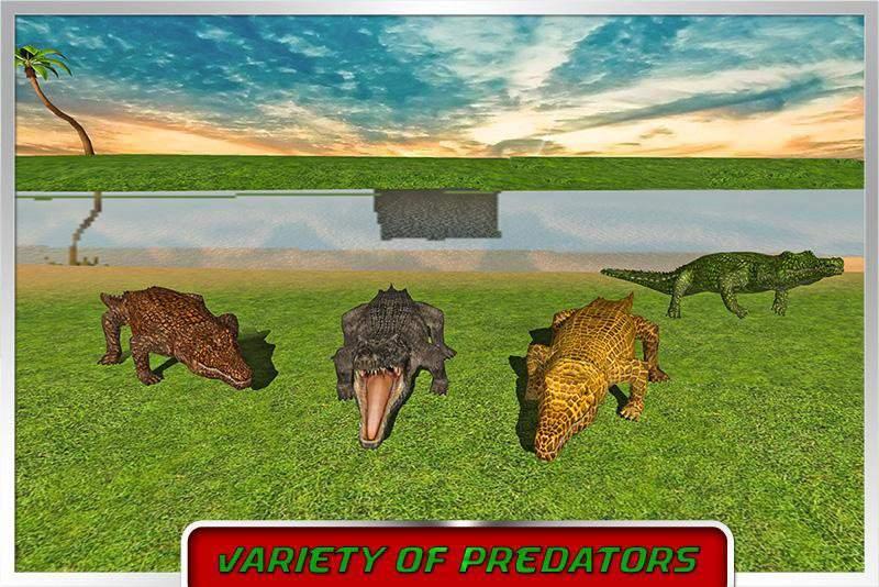 鳄鱼模拟器2016年截图6