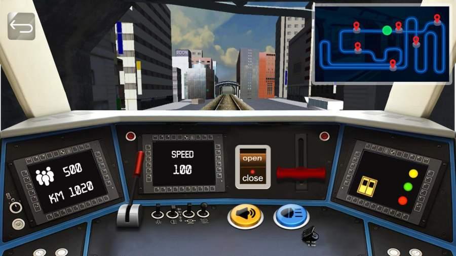地铁模拟器驾驶截图0