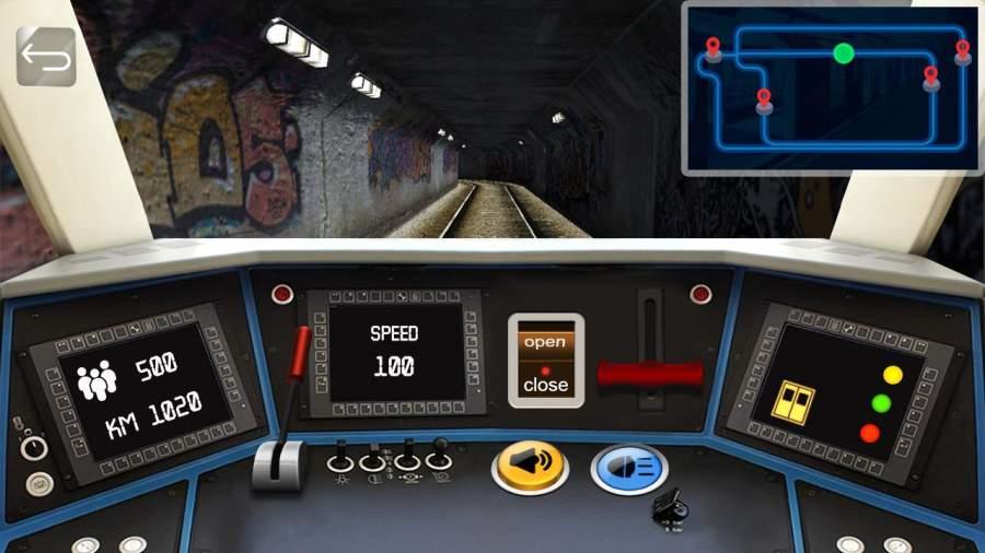 地铁模拟器驾驶截图1