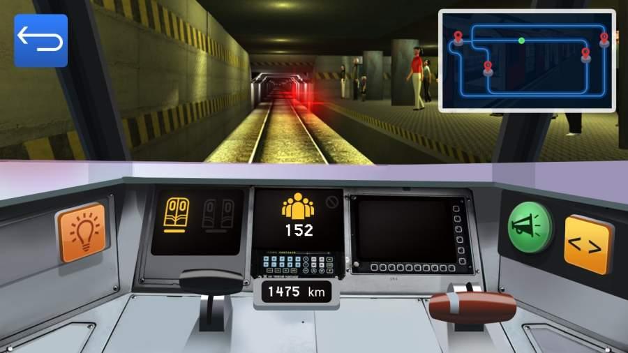 地铁模拟器驾驶截图2