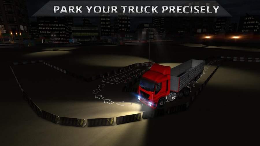 夜卡车司机停车3D截图7