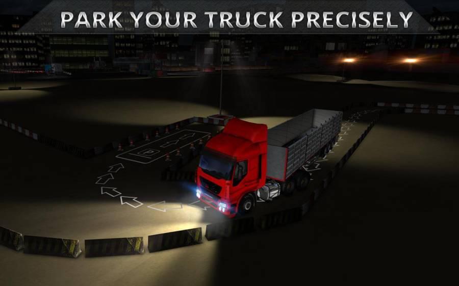 夜卡车司机停车3D截图8