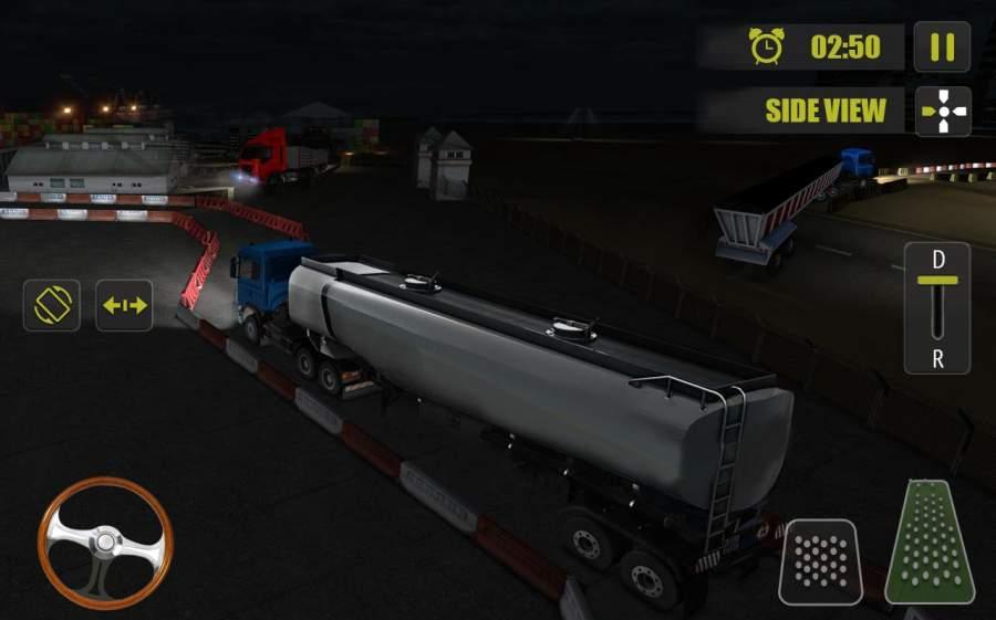 夜卡车司机停车3D截图9