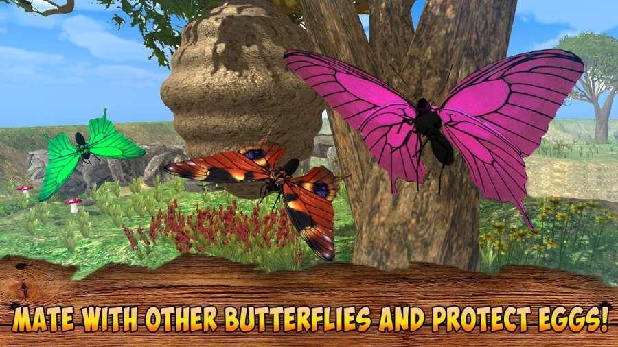 蝴蝶模拟器3D截图0