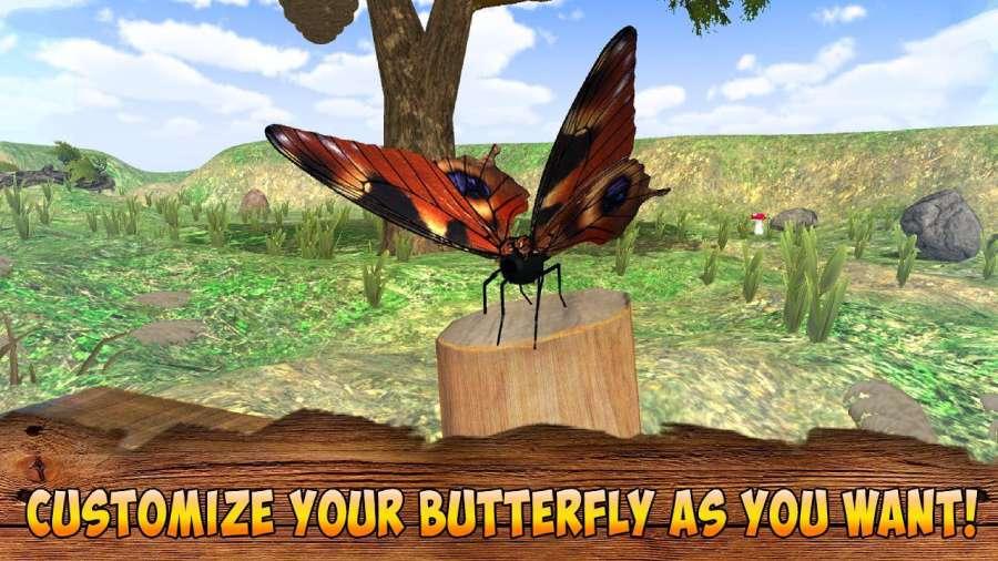 蝴蝶模拟器3D截图3