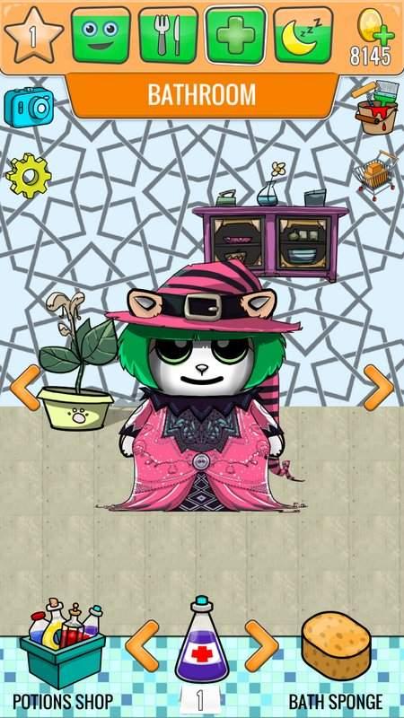 虚拟宠物猫游戏