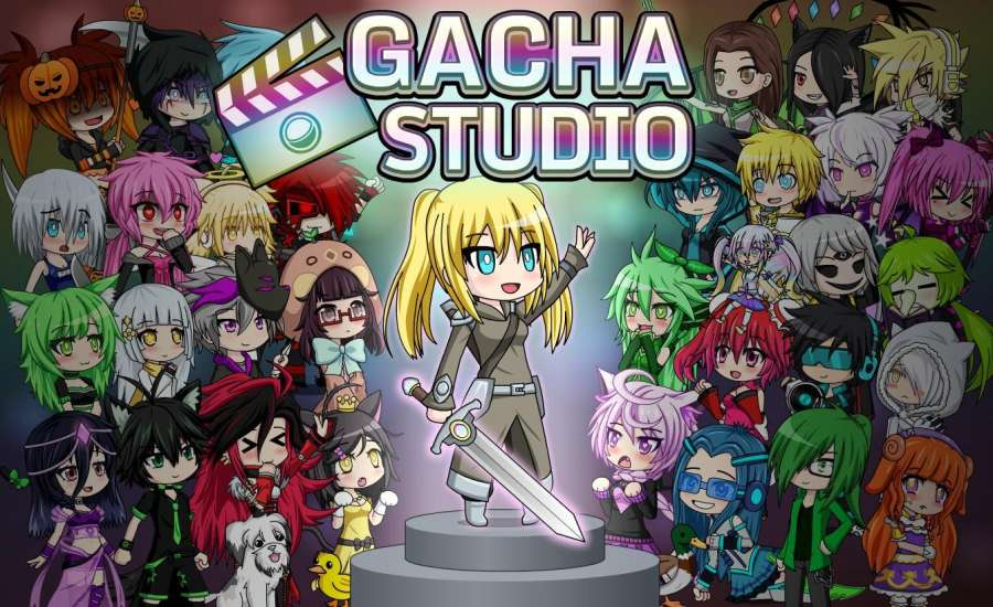 Gacha工作室(动漫打扮)Gacha Studio (Anime Dress Up)截图1