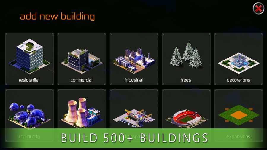 城市设计:建造游戏截图1