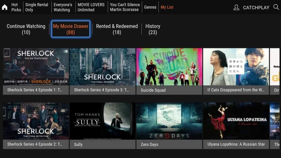 CATCHPLAY TV/機上盒 最新熱門強檔電影線上看