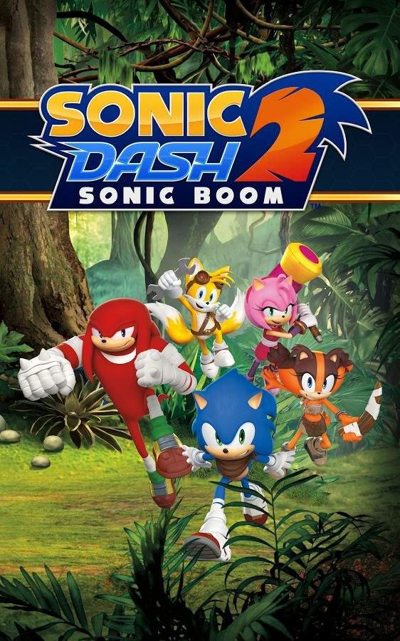 索尼克冲刺2:爆破  Sonic Dash 2:截图0