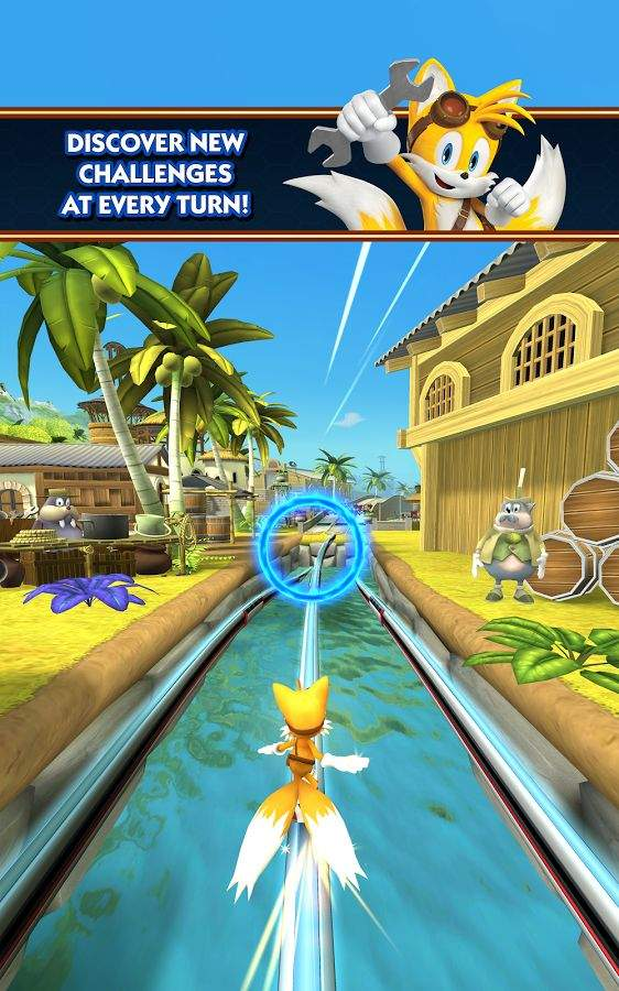 索尼克冲刺2:爆破  Sonic Dash 2:截图2