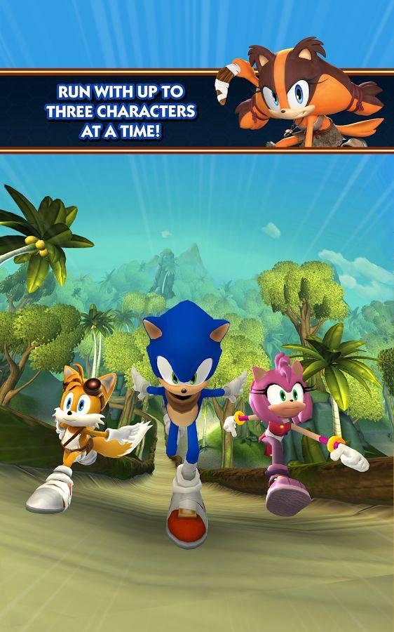 索尼克冲刺2:爆破  Sonic Dash 2:截图3