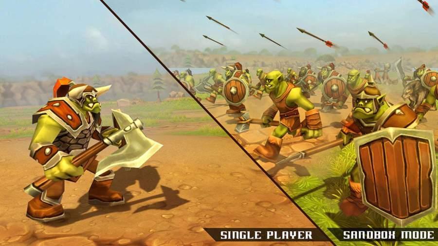 兽人史诗战斗模拟器截图2