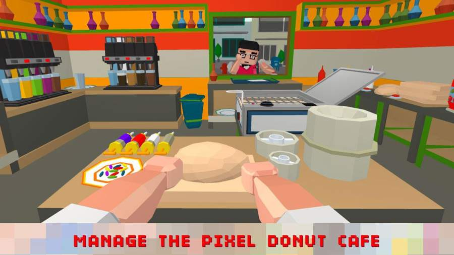 Sweet Donut Maker Cooking Chef截图1