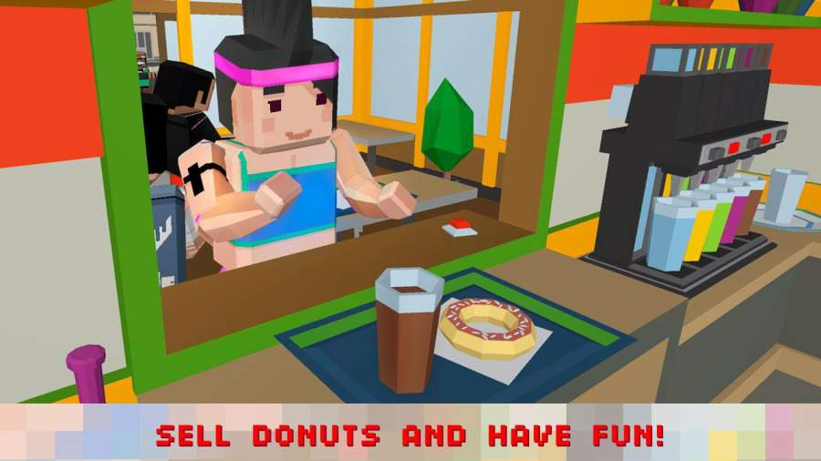 Sweet Donut Maker Cooking Chef截图2