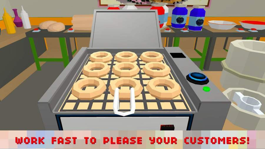 Sweet Donut Maker Cooking Chef截图3