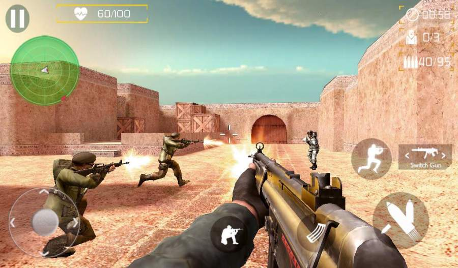 Counter Terrorist SWAT Shoot截图2