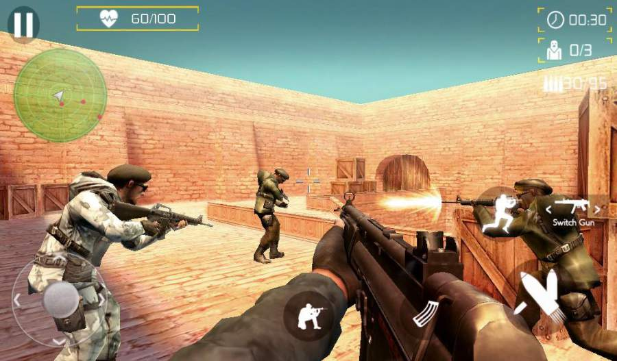 Counter Terrorist SWAT Shoot截图4