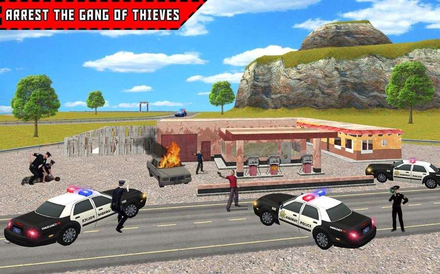 Police Highway Crime Patrol 3D截图1