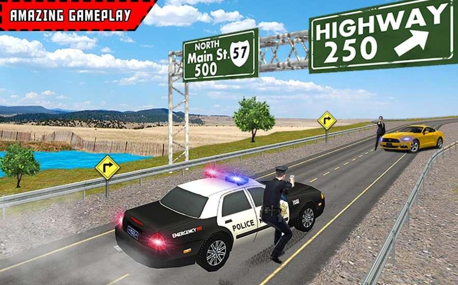 Police Highway Crime Patrol 3D截图3
