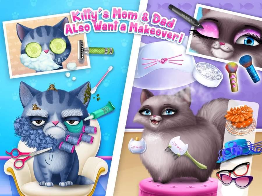 猫咪美发沙龙生日派对截图1
