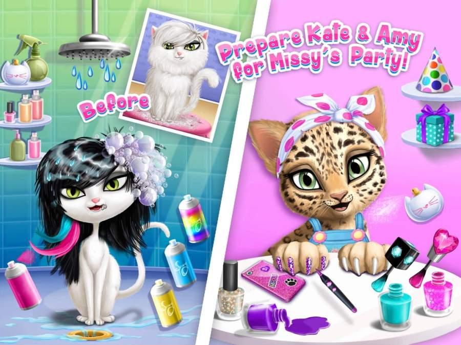 猫咪美发沙龙生日派对截图2