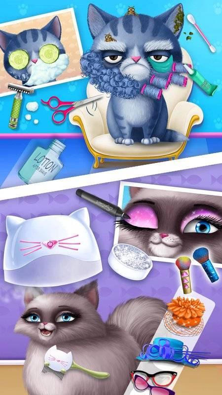 猫咪美发沙龙生日派对截图7