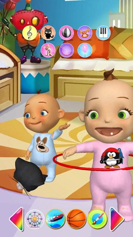 谈的婴孩双胞胎新出生的乐趣截图0