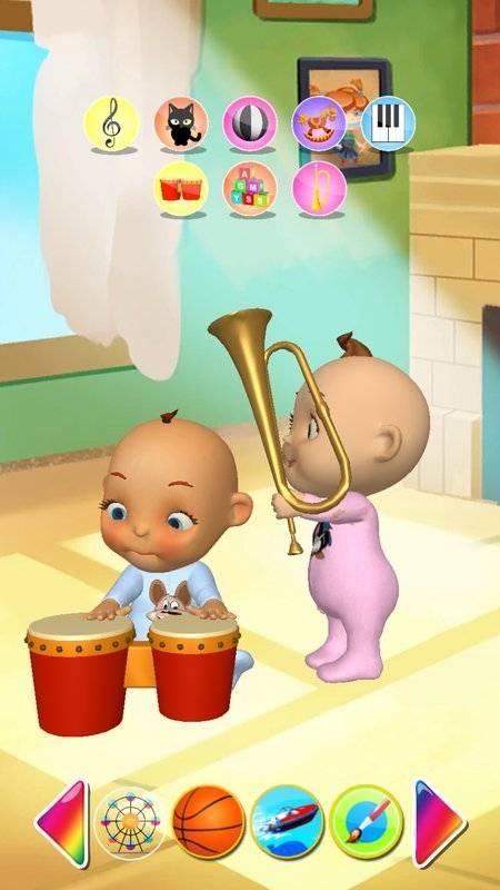 谈的婴孩双胞胎新出生的乐趣截图1