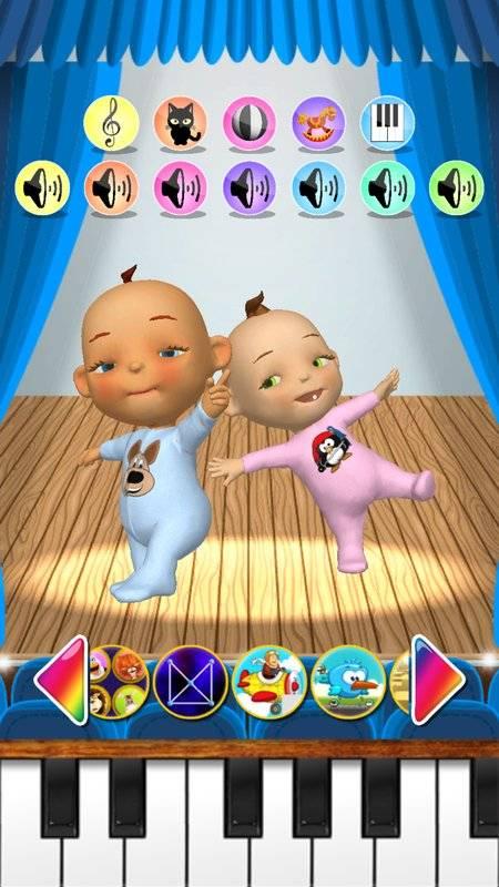 谈的婴孩双胞胎新出生的乐趣截图4