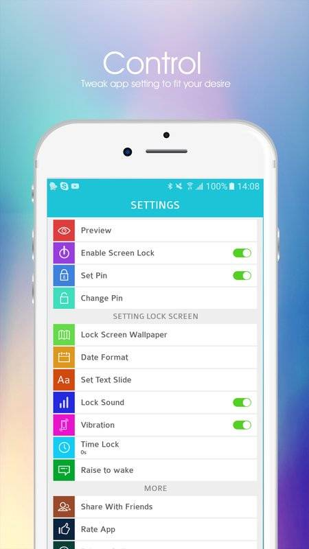 iLock - Lock for phone 8截图0