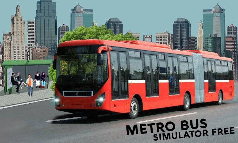 Metro Coach Bus Sim New 2017截图0