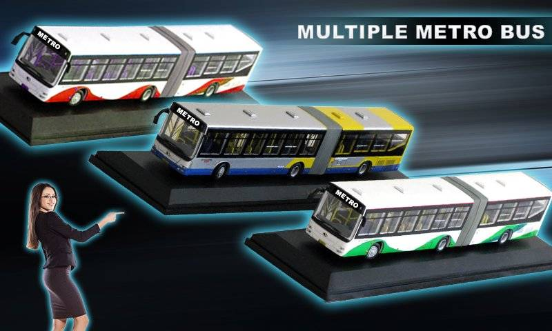 Metro Coach Bus Sim New 2017截图2