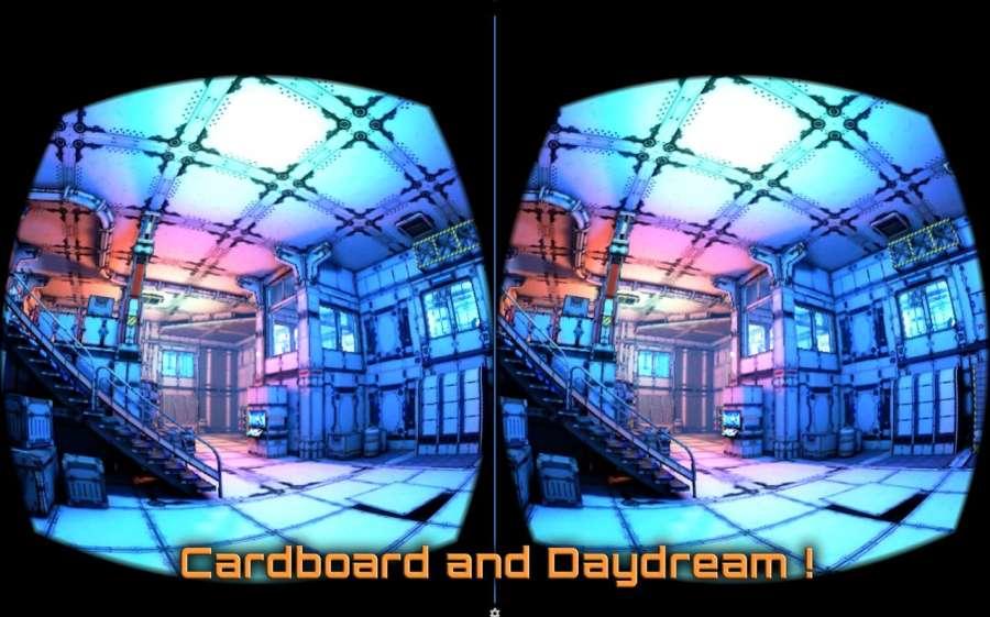 VR Spaceship截图0