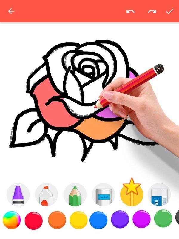 学画花朵截图1
