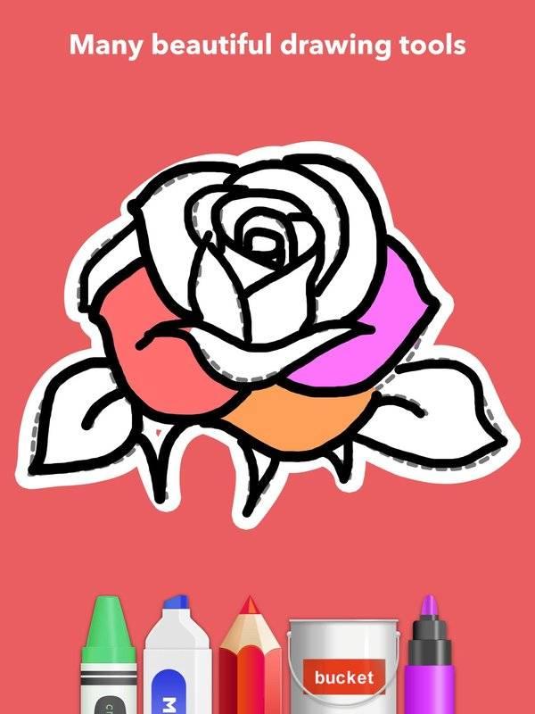 学画花朵截图4