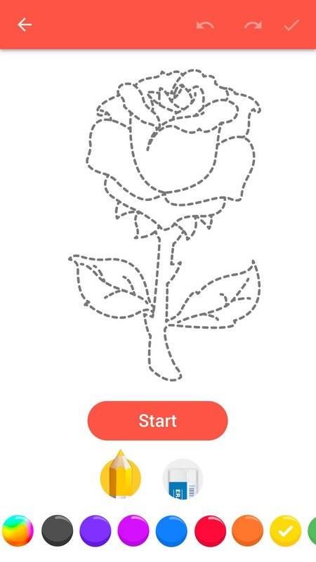 学画花朵截图5