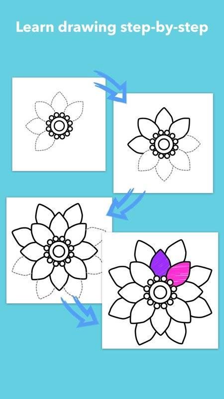 学画花朵截图8