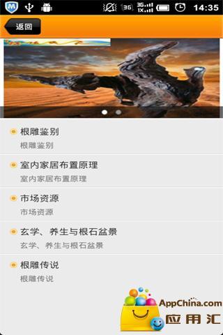 玩免費生活APP|下載中国根雕 app不用錢|硬是要APP