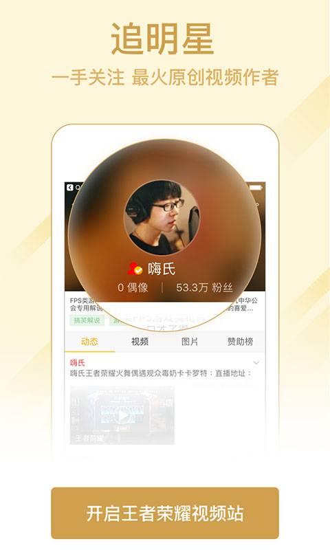 王者荣耀视频站截图3