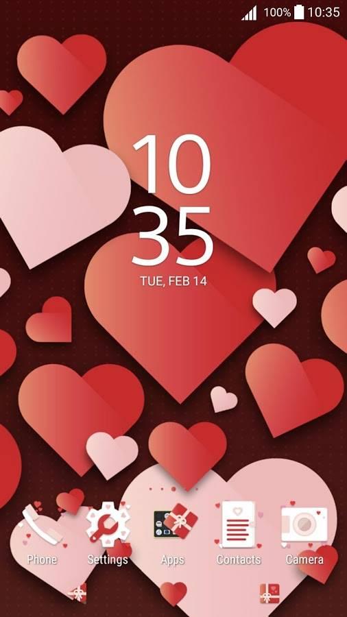 XPERIA™ Valentine's截图1