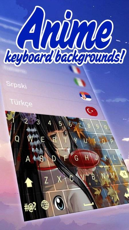 动漫键盘主题