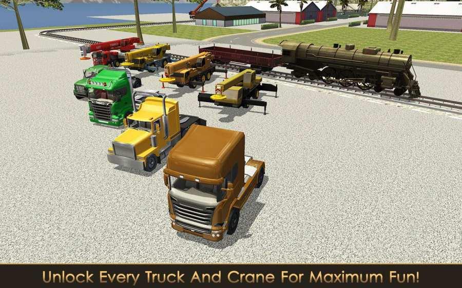 铁路建设者:起重机和装载机截图1